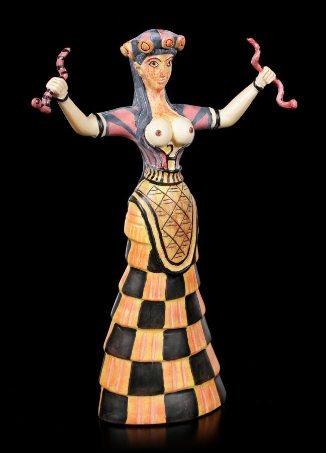 Minoische-Schlangengoettin-Aus-Knossos-Figur