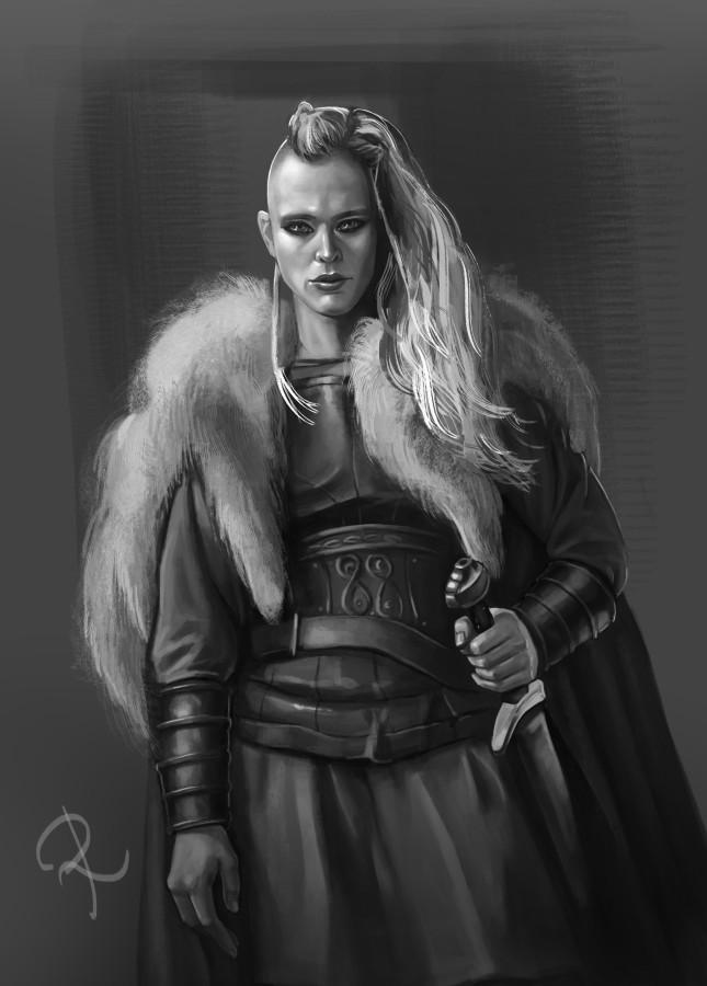 Viking girl, Olga Rizhkova.