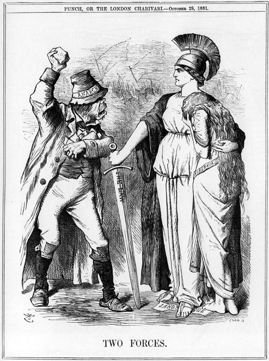 Ирландцы против британцев