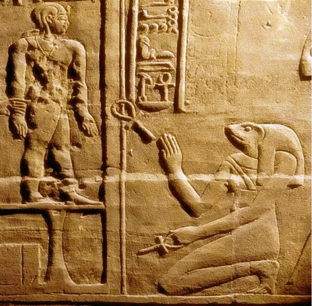 Хекет - богиня плодородия, вдыхающая жизнь