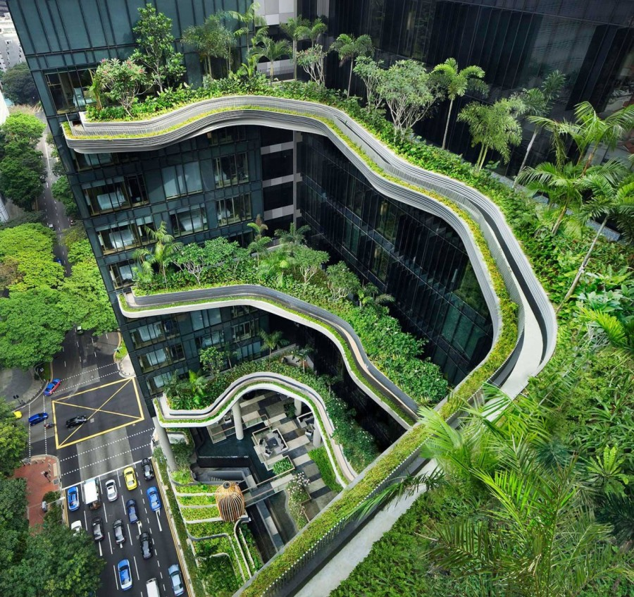 Отель-сад в Сингапуре