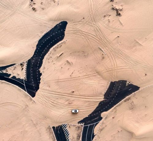 Саудовская Аравия пустыня пожирает прогресс