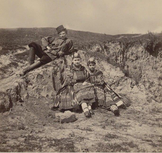 Жители Орловской губернии 2. Фото Жана Ксавье Рауля, конец 1870-х