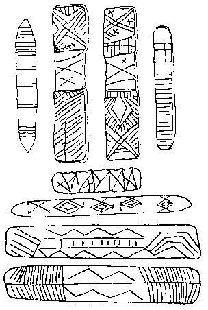 Дощечки с письменами австралийских аборигенов