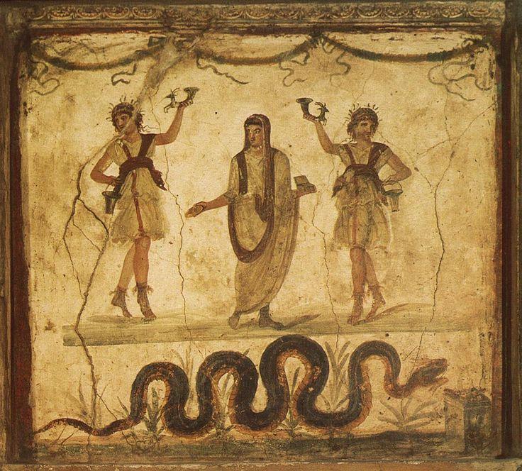 Гений места (genius loci) и лары.