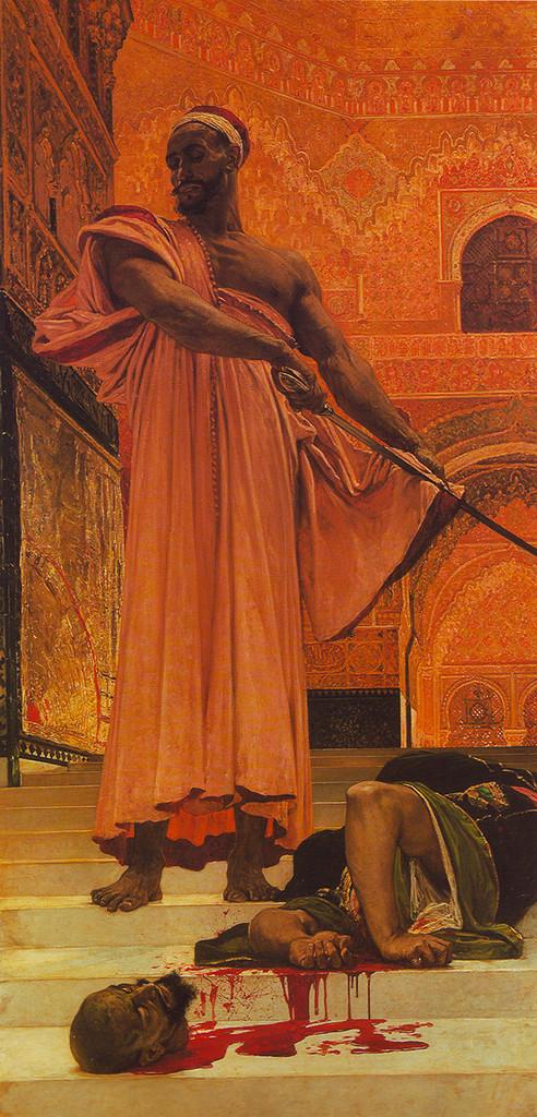 Бессудная казнь при мавританских властителях Гранады, 1870