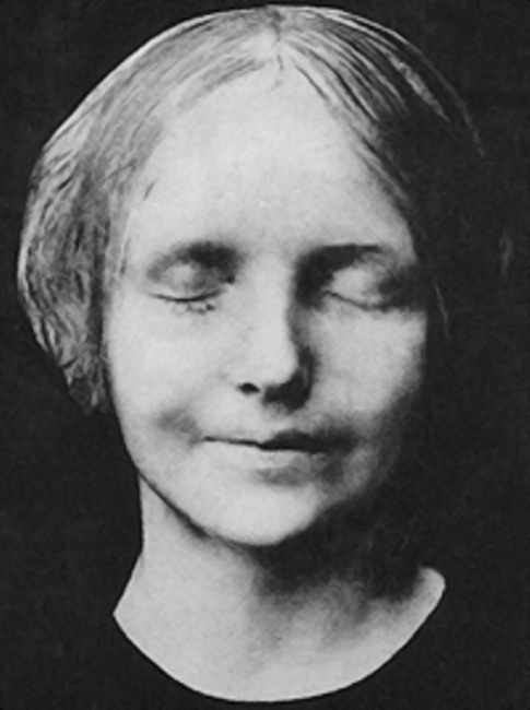 Незнакомка из Сены, 1880 год
