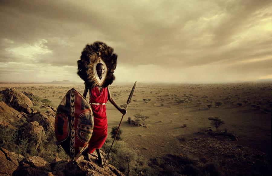 воин масаи