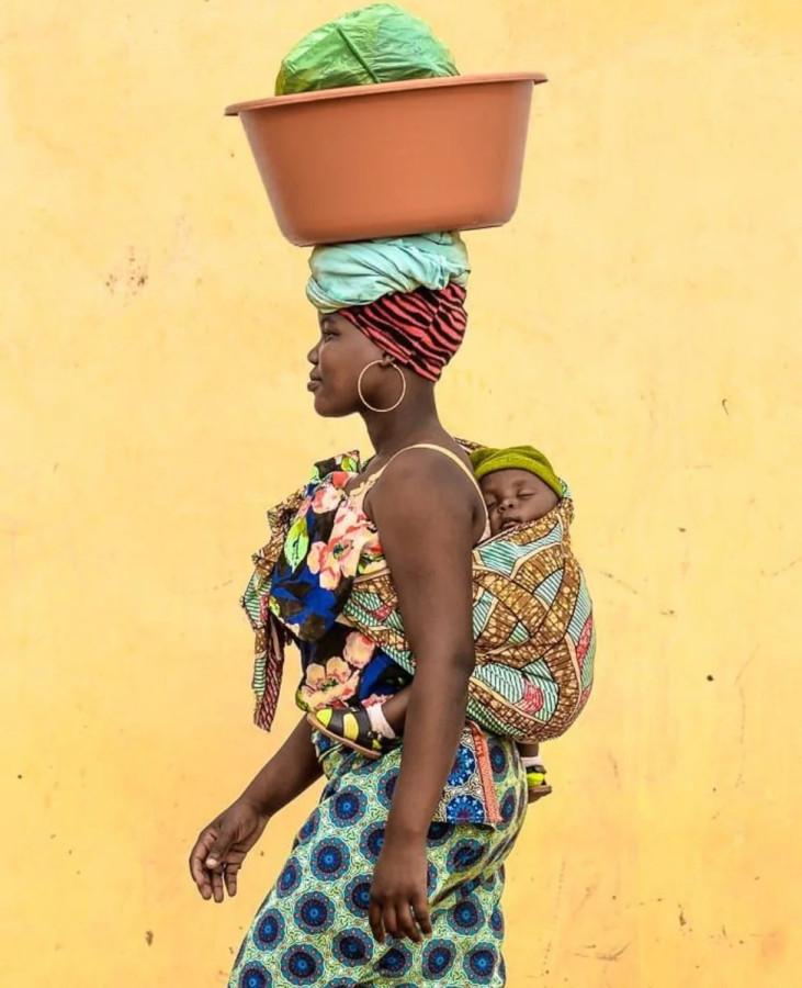 Африканская мадонна