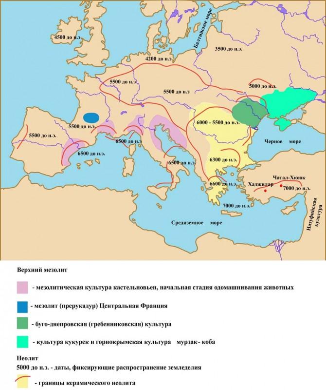 Экспансия неолитических культур