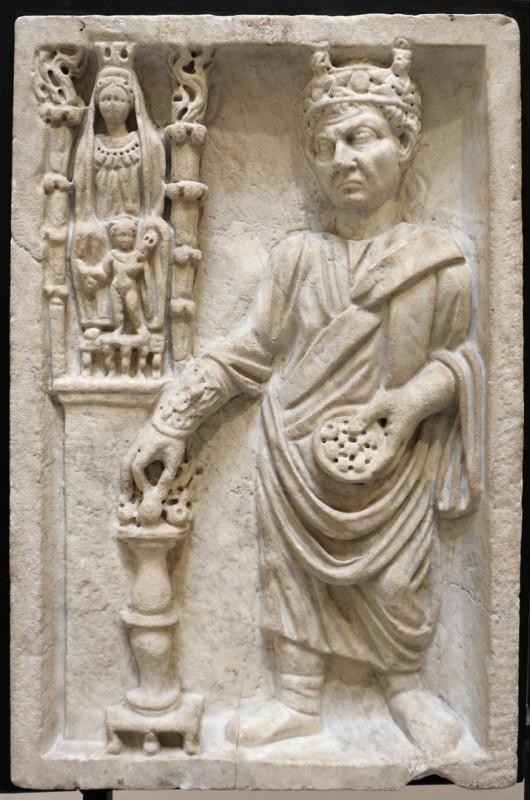 Статуя жреца-галла, III век, Капитолийские музеи, Рим.