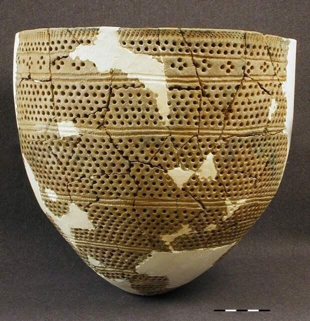 Ямочно-гребенчатая керамика.