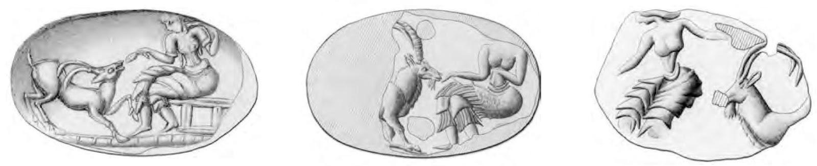 minoan ibex seals