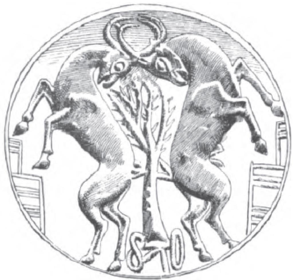sacred tree and ibex