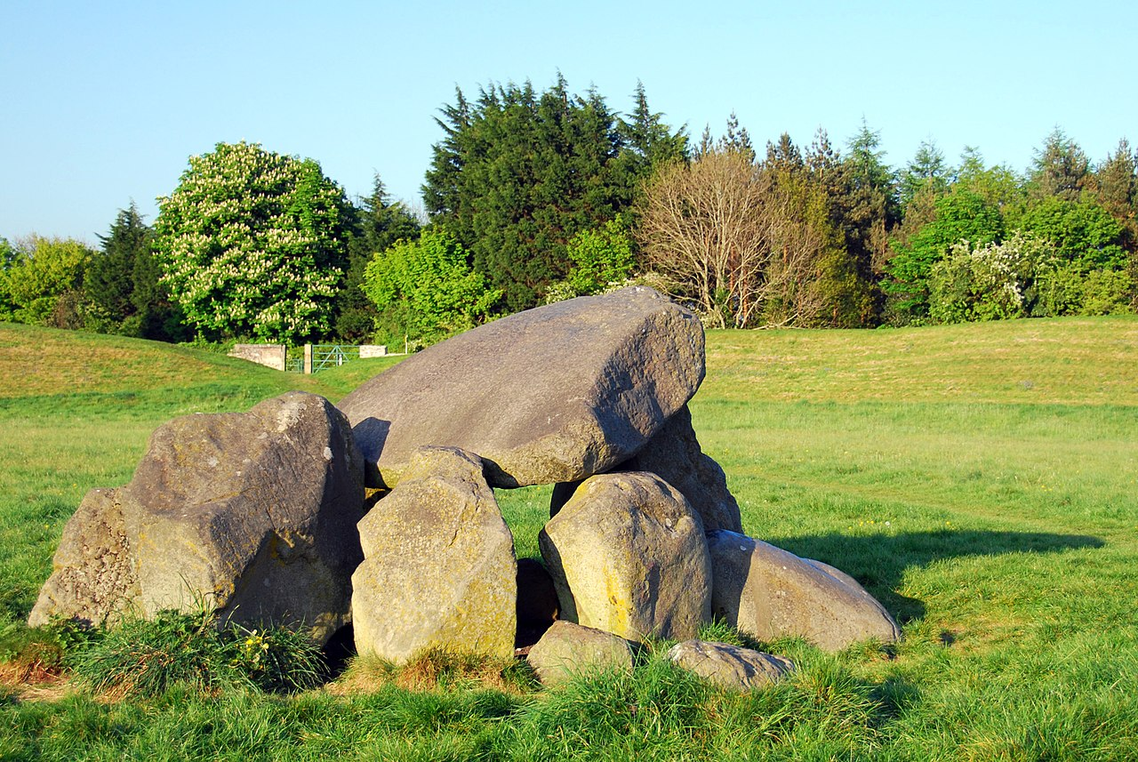 Megalithic tomb in Ballynahatty