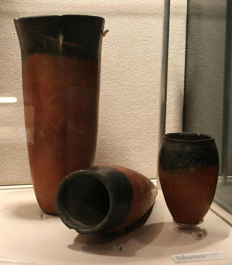 Керамика культуры Бадари