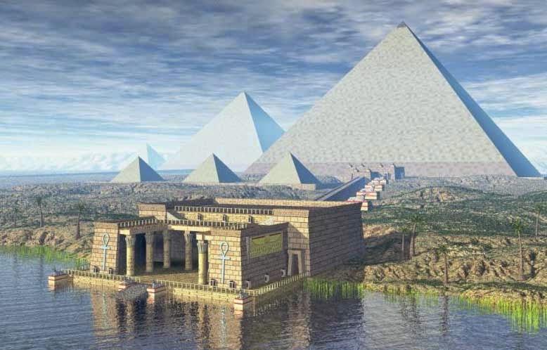 Облицовка пирамиды Хеопса