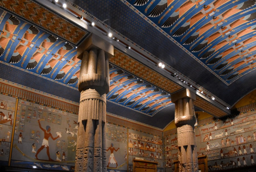 Египетский зал венского Музея истории искусств 2