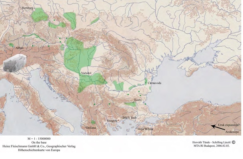 карта Баденской культуры