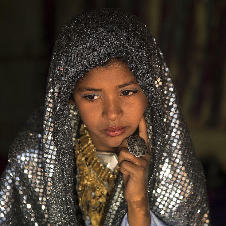 Tuareg girl, Ghadamis Libya Libya
