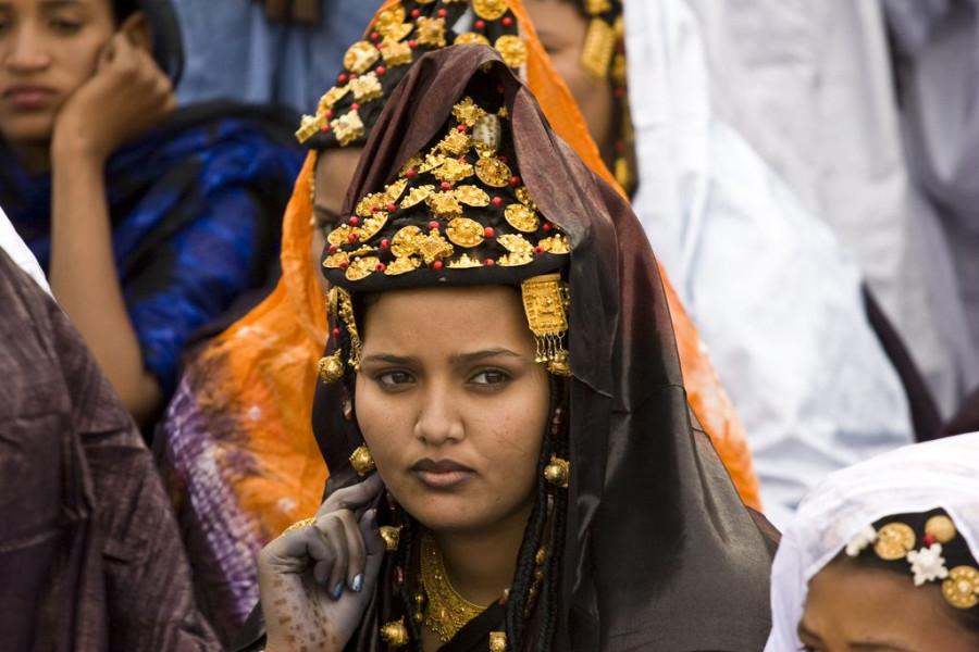 Tuareg woman in Mali.