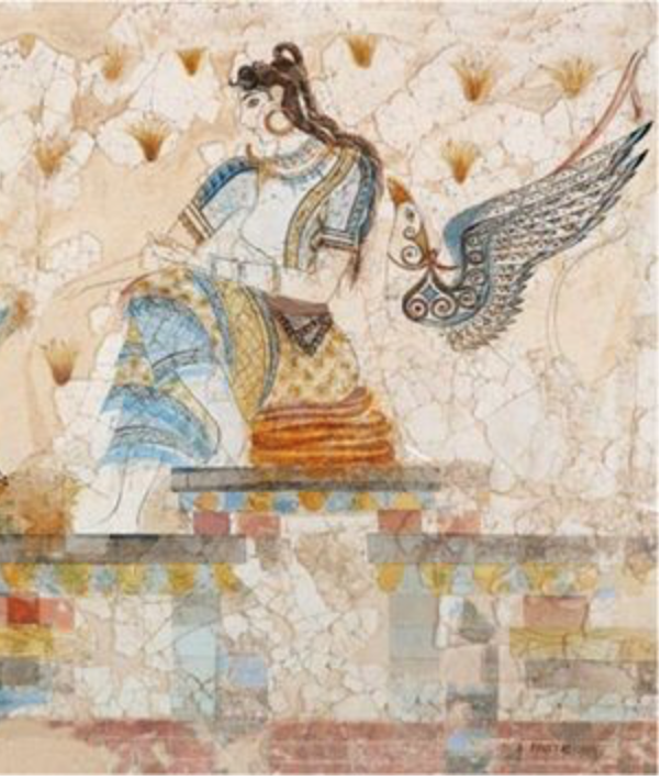 goddess of saffron