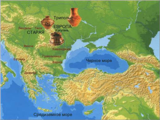 Старая Европа и археологические культуры, её представляющие