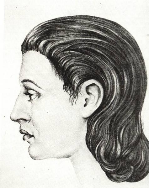 Женщина трипольской культуры.