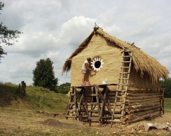реконструкция трипольского дома