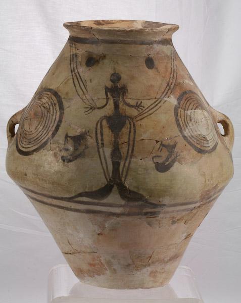 Амфора с изображением Великой Богини. Pomtia Theron. Молдавия. 5 тыс. до н. э.