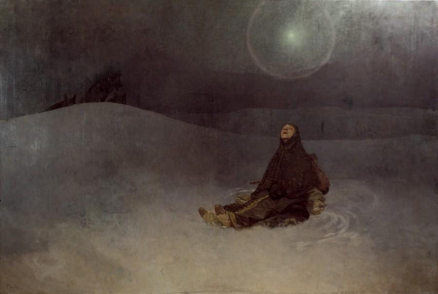 Альфонс Муха, Сибирь и звезда, 1923 год