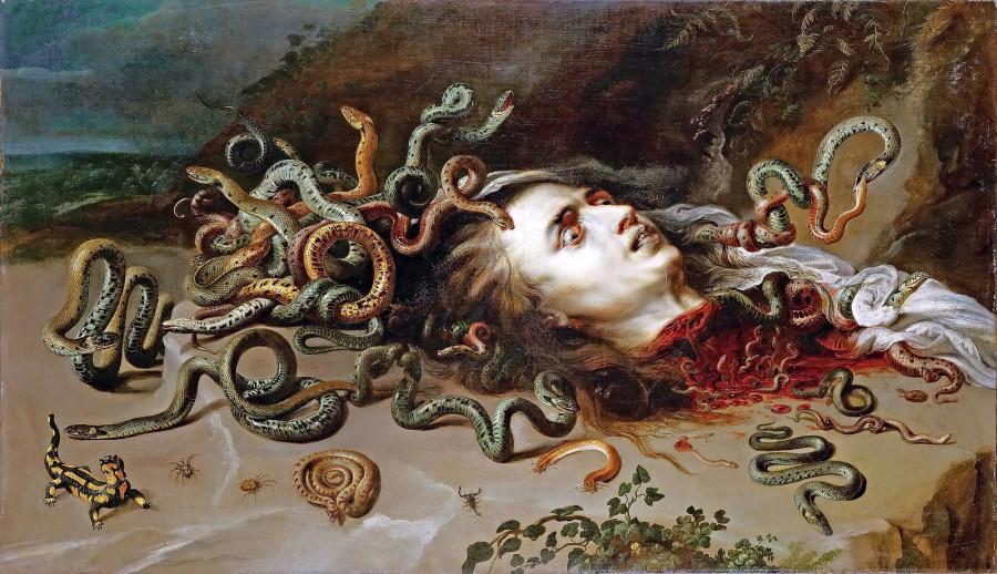 Rubens - Medusa 1cs uhr [1617-18] - Vienna KHM
