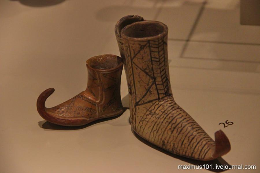 Хеттские сапожки с загнутыми носами. Каниш, 19-17 вв. до н.э.