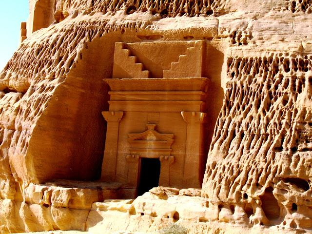 Мадаин Салех, доисламский город мёртвых