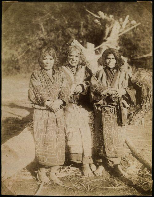 Женщины айну