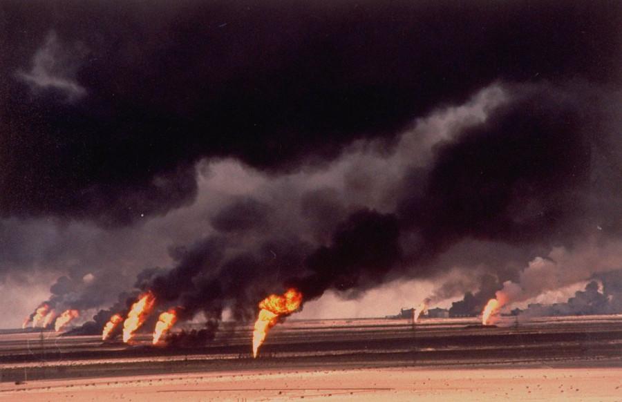 Нефтяные пожары в Кувейте 1991