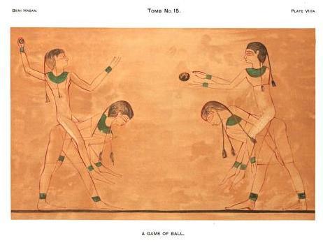 Игра в мяч в Египте