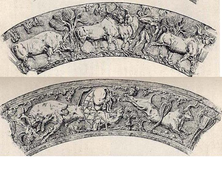minoan-made-vaphio-cups-of-bull-capture-escape
