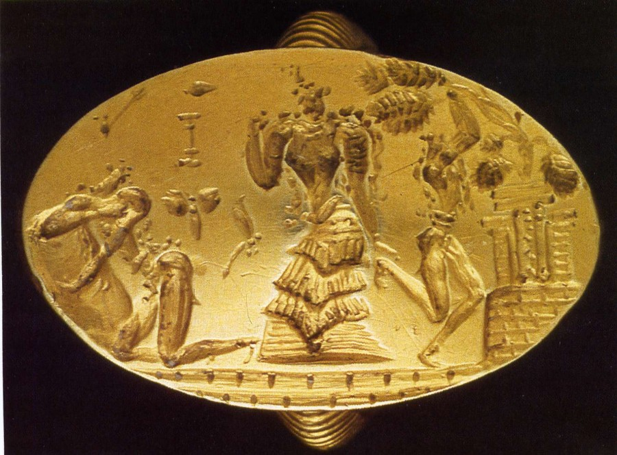 late-minoan-gold-ring-from-archanes