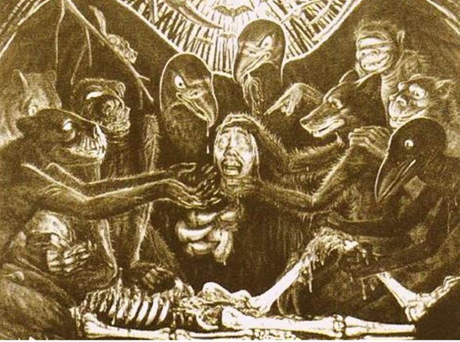 расчленение шамана