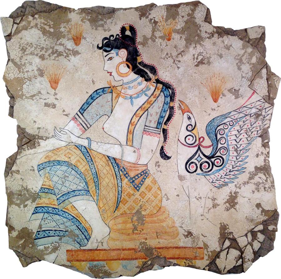 The Saffron Goddess