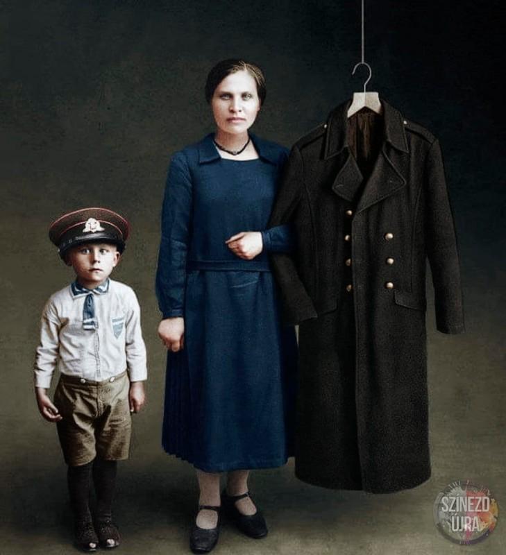 Семейный портрет после Первой мировой войны, 1919 год.