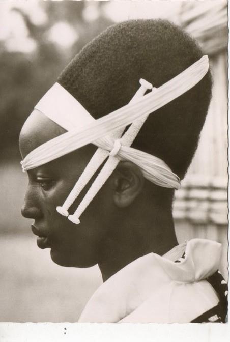 CONGO BELGE Femme Watutsi, 1957