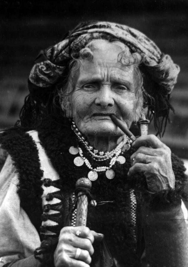 гуцульская женщина 1930-е гг.