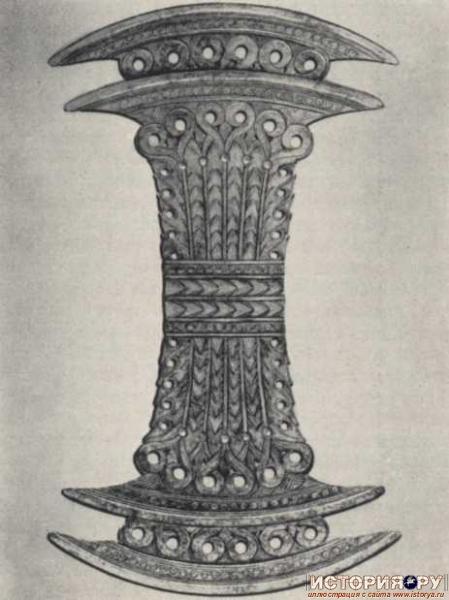 Лабрис из дворца в Като Закро 2-я пол 16в до н.э.
