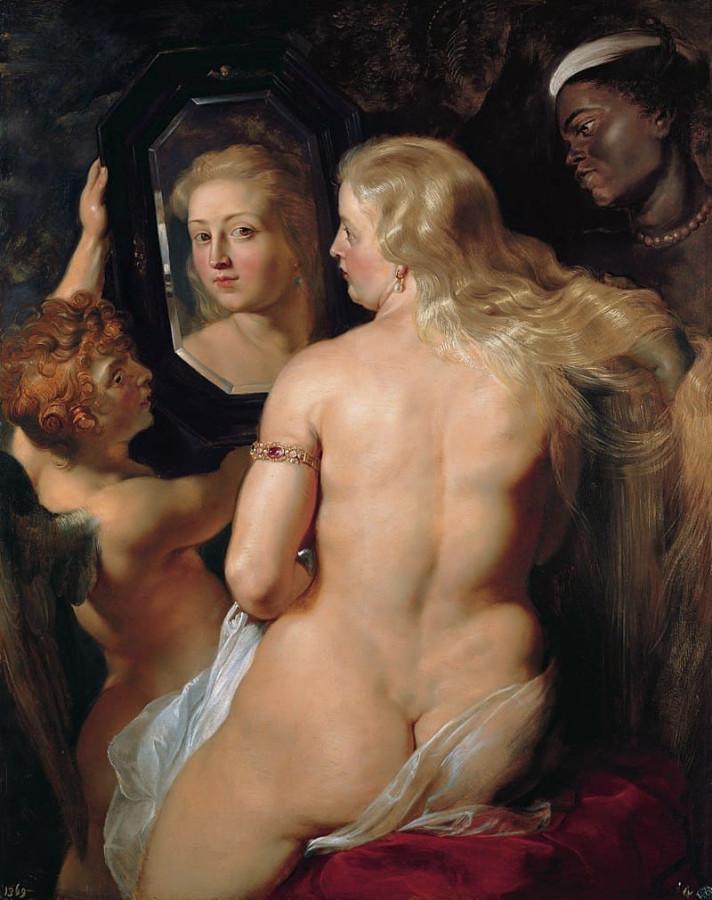 Питер Пауль Рубенс Венера перед зеркалом