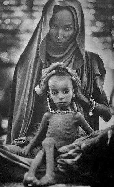 Голод в Эфиопии. 1985
