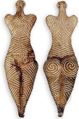 Drăguşeni, Румыния. 4050-3900 до н. э Музей в Ботошанах.