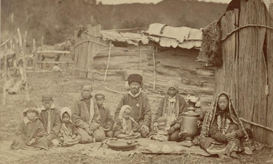 Башкирская семья.