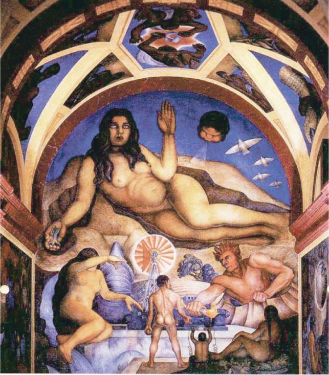 Д. Ривера. Освобожденная Земля, 1926 г.